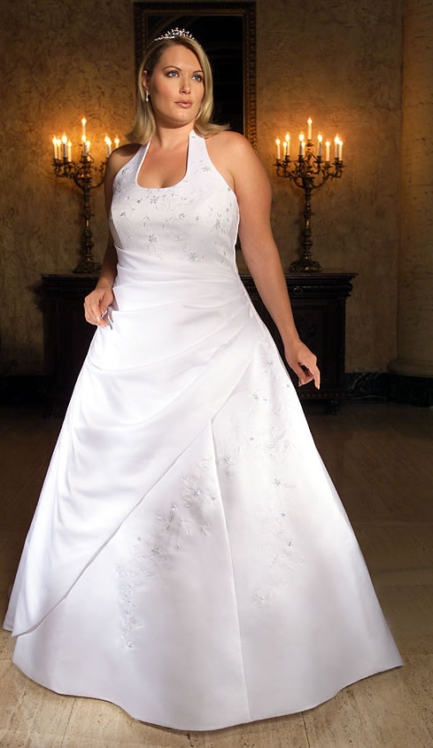 that you can make as examples to select models plus size wedding gowns