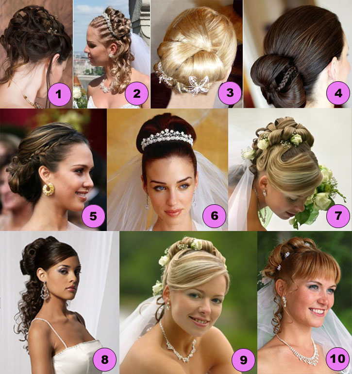 so to produce the wedding hairstyle arrangement that very fit for you.