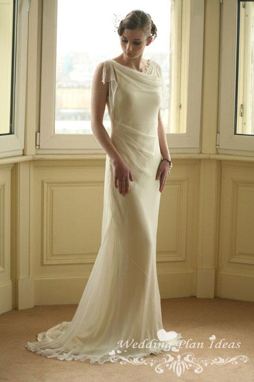 Grecian bridal dresses