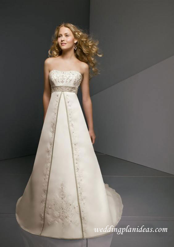 Inexpensive Wedding Dresses But Elegant