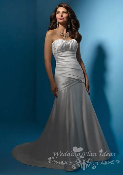 Mermaid wedding dresses gowns by Alfred Angelo