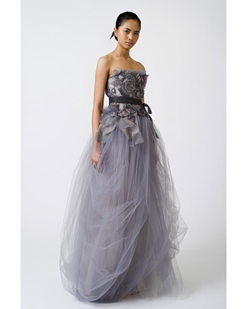 Ball gown style wedding dress Spring 2011 by Vera Wang
