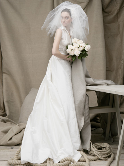 Beautiful Wedding Dress Fashion by Acquachiara