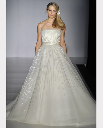 Fall 2011wedding dress Collection A-Line style by Ines Di Santo