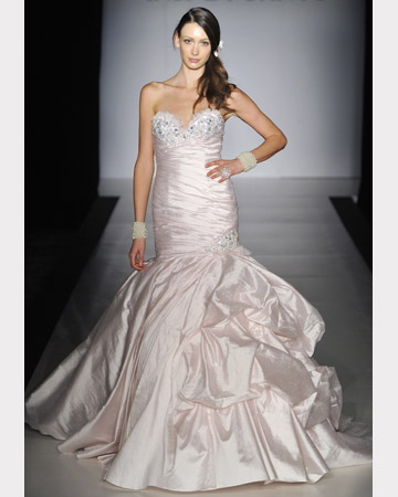 Fall 2011wedding dress Collection Trumpet style by Ines Di Santo