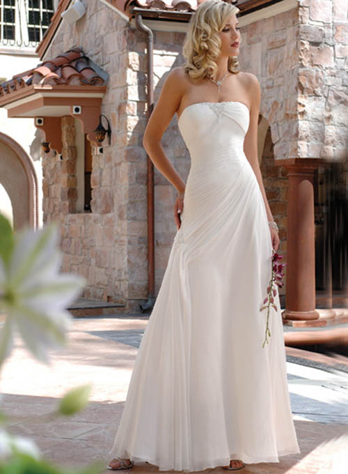 Informal Wedding Dress Maggie Sottero front side