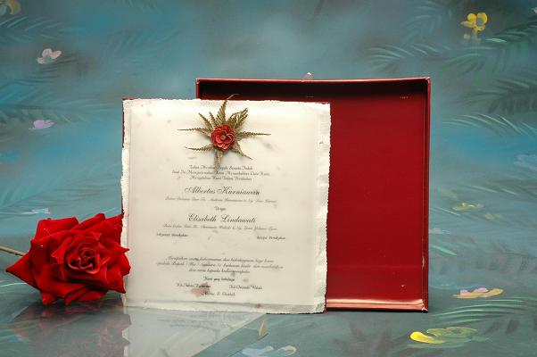 handmade wedding invitation. It is well known that managing a wedding is not