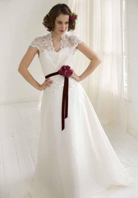 Handpicked wedding dresses with sash 2011 wedding plan ideas for Wedding dresses with sashes