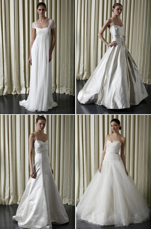 spring wedding dresses in some styles