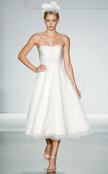 Designer Wedding Dresses Short