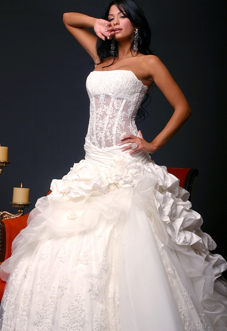 Corset Wedding Gowns