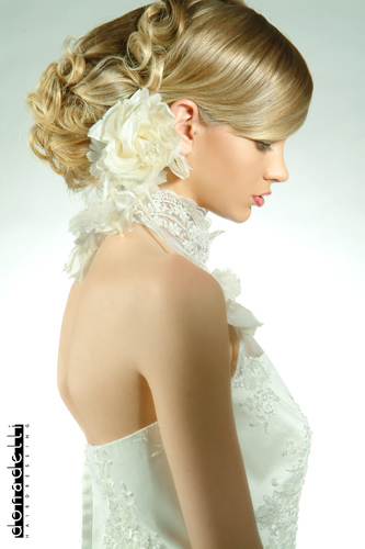 casual wedding hairstyle