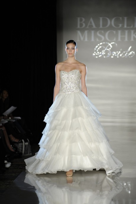 Bridal Gowns Spring 2011 Collection by Badgley Mischka