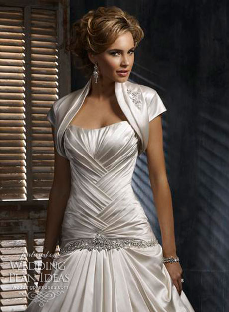 Wedding dress trends for 2012 wedding plan ideas for Bolero jacket for wedding dress
