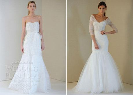 Lingerie Inspired Wedding Dress