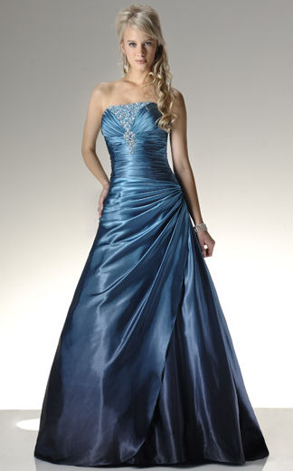 Long Satin Prom Dresses