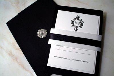 Sample of Luxury wedding Invitations