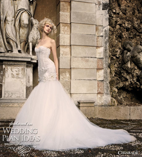 chiarade strapless bodice wedding dresses collection
