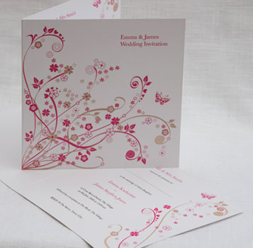 wedding invitation magic moments