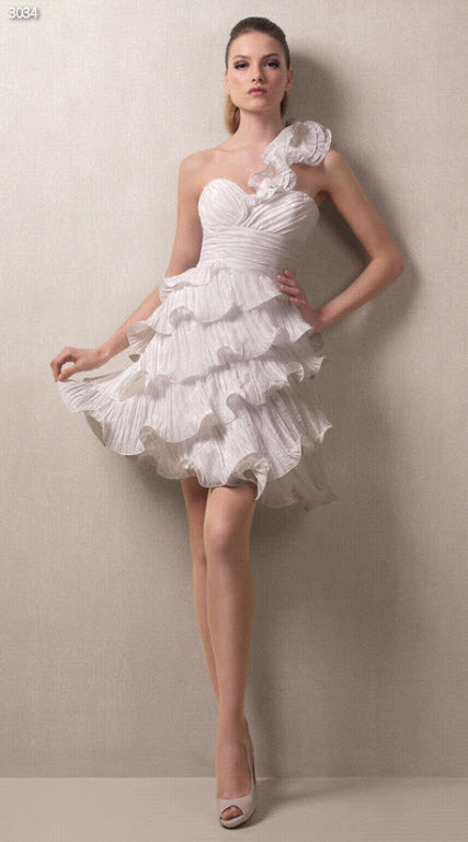 Knee Length Wedding Dresses