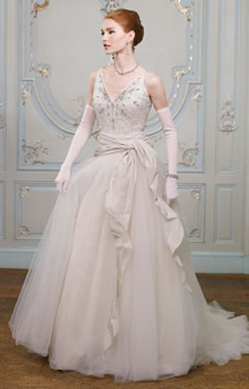 Couture Wedding Dress by Ian Stuart