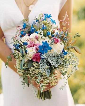 unique wildflower bouquet