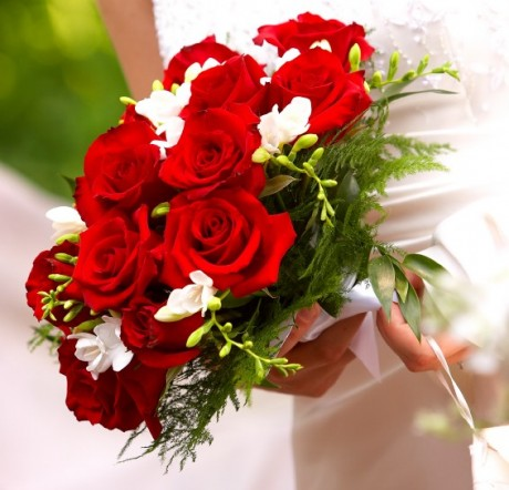 Winter Wedding Bouquet flowers