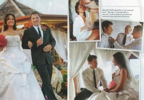 Vanessa Minnillo and Nick Lachey wedding