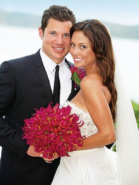 Vanessa Minnillo wedding dress