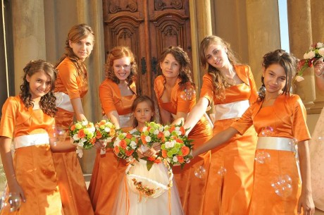 Orange Bridesmaid Dresses Unique Unforgettable
