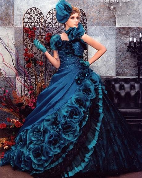 Gypsy Wedding Dress Style