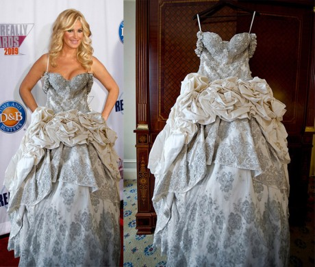 Kim Zolciak Baracci Wedding Dress