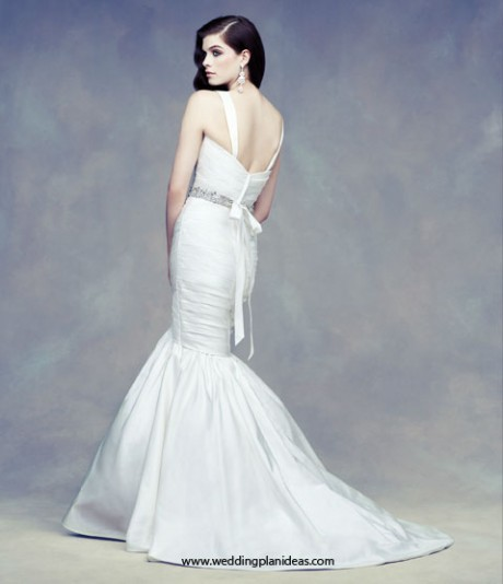 Paloma Blanca Mermaid Wedding Dress Open Back