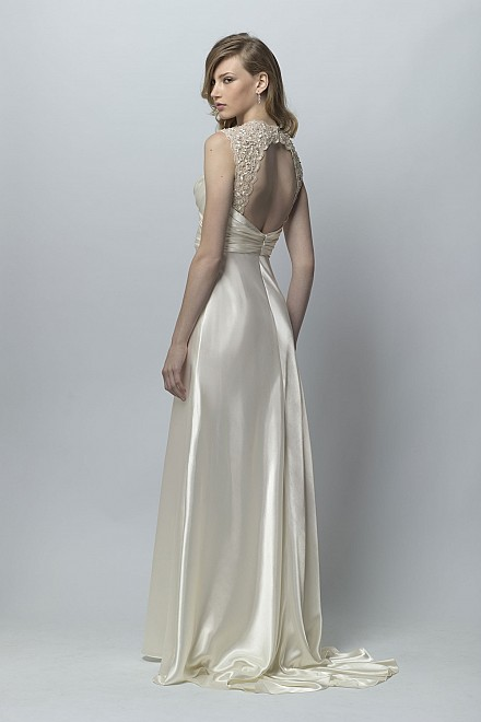 Piper Wedding Dress from Wtoo Brides Open Back
