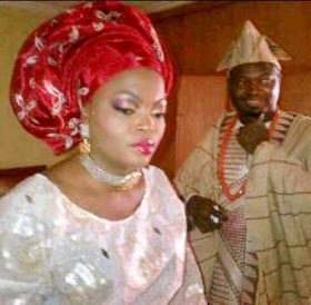 photo funke akindele wedding