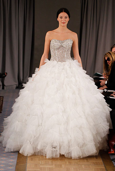 Ball Gown Wedding Dress 2012