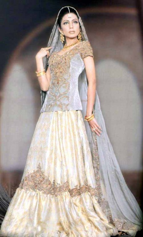 Pakistani Wedding Dress 2012