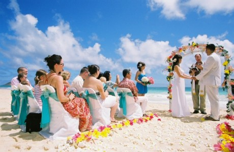 Tips to Organize a Beach Wedding Party