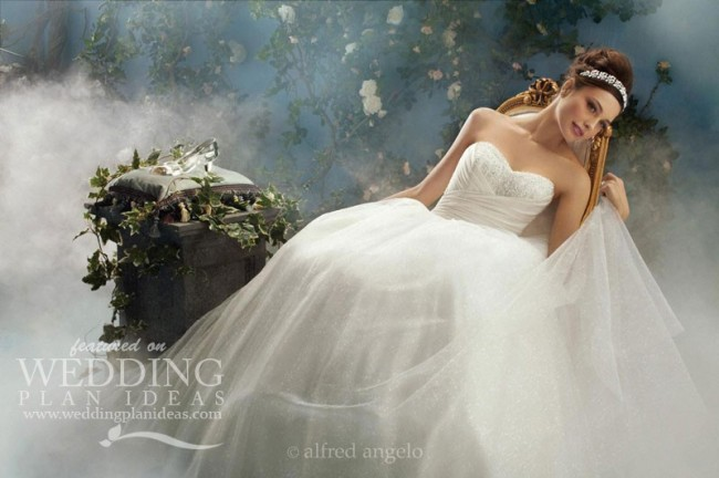Fairy Tale Wedding Dresses by Alfred Angelo