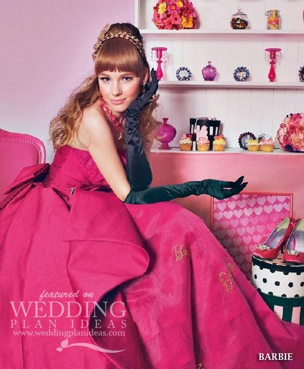 Charming Barbie Wedding Dress