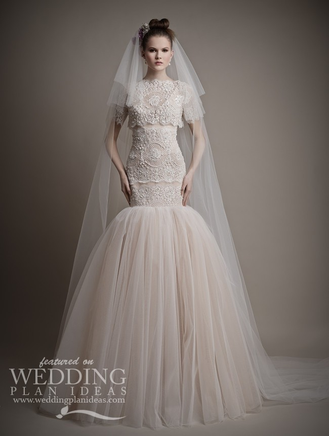 Spring Wedding Dresses 2015 by Ersa Atelier