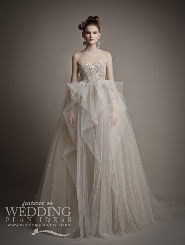 Sweethearth Wedding Dress by Ersa Atelier