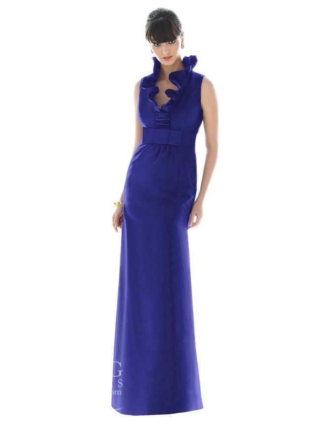 Blue Bridesmaid Dress by Alfred Sung