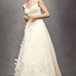 Simple A-line Vintage Wedding Dress